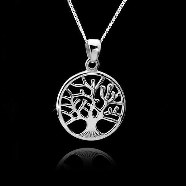 Silber anhänger  Original 925 Silber Anhänger Lebensbaum Keltischer Schmuck 27x37mm ...