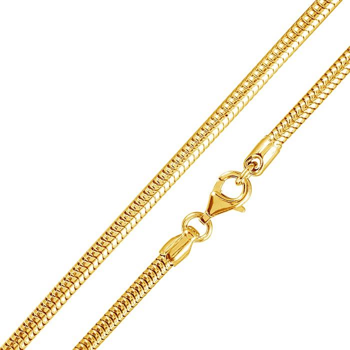 materia gold schlangenkette 925 silber 1 2mm in 40 90cm. Black Bedroom Furniture Sets. Home Design Ideas